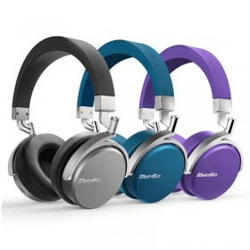 Casti Bluetooth Bluedio Vinyl, Wireless, Microfon, Rotire...
