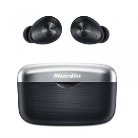 Casti wireless in-ear Bluedio Fi cu cutie de incarcare si...